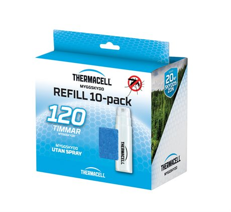 Thermacell Myggskydd Refill 10-pack 120h