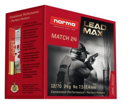 Norma Lead Max Match 24 12/70